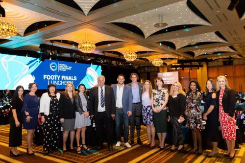 Jam on Your Collar - WIRV AFL Grand Final Lunch - 2018 - Crown Palladium - 041